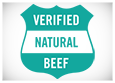 Verified Natural Beef